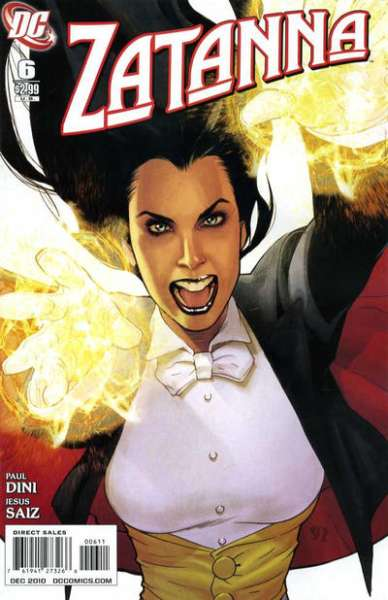 Zatanna #6 comic books - cover scans photos Zatanna #6 comic books - covers, picture gallery