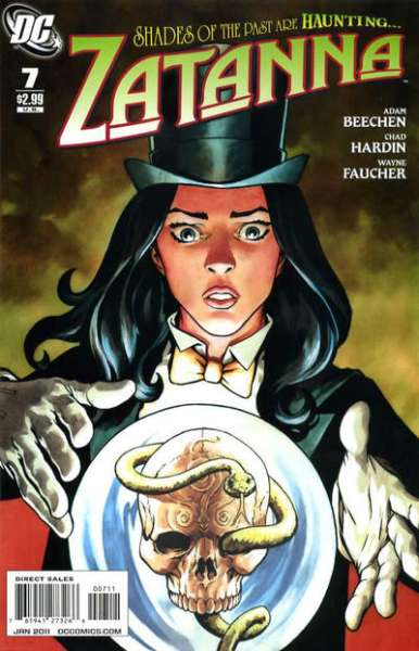 Zatanna #7 comic books - cover scans photos Zatanna #7 comic books - covers, picture gallery