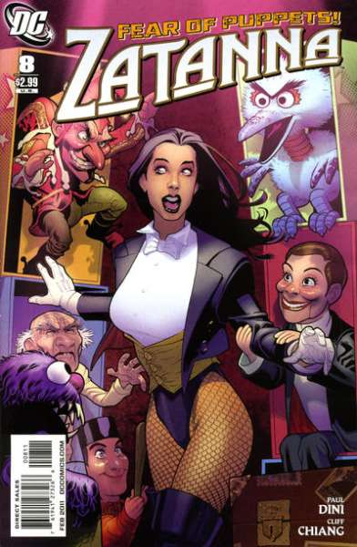 Zatanna #8 Comic Books - Covers, Scans, Photos  in Zatanna Comic Books - Covers, Scans, Gallery