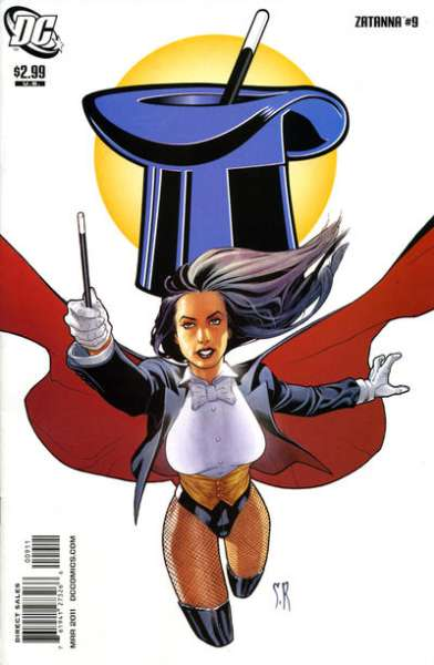 Zatanna #9 Comic Books - Covers, Scans, Photos  in Zatanna Comic Books - Covers, Scans, Gallery
