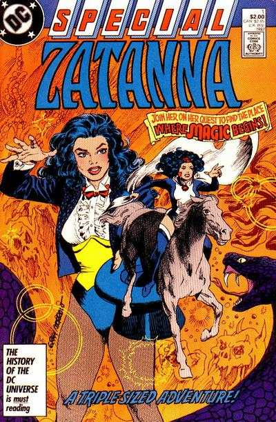 Zatanna Special comic books