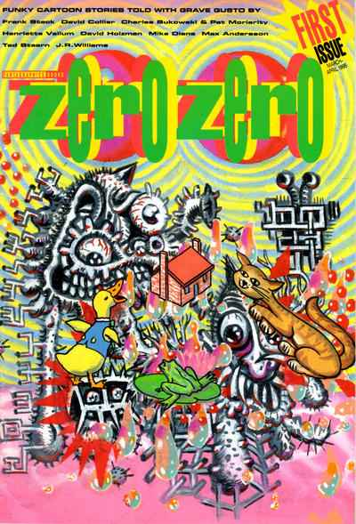 Zero Zero #1 Comic Books - Covers, Scans, Photos  in Zero Zero Comic Books - Covers, Scans, Gallery