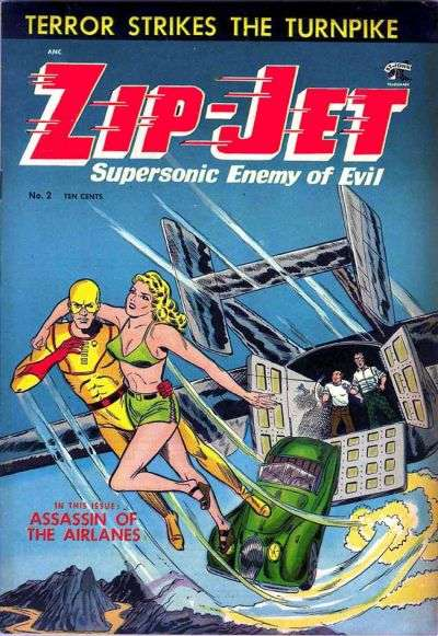 Zip Jet #2 comic books - cover scans photos Zip Jet #2 comic books - covers, picture gallery