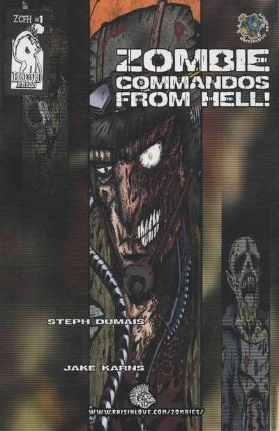 Zombie Commandos from Hell comic books