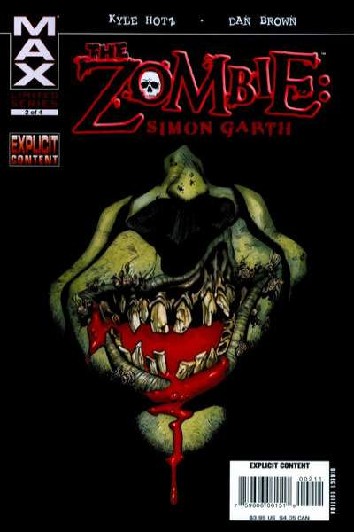 Zombie: Simon Garth #2 comic books for sale