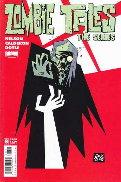Zombie Tales: The Series #8 comic books for sale