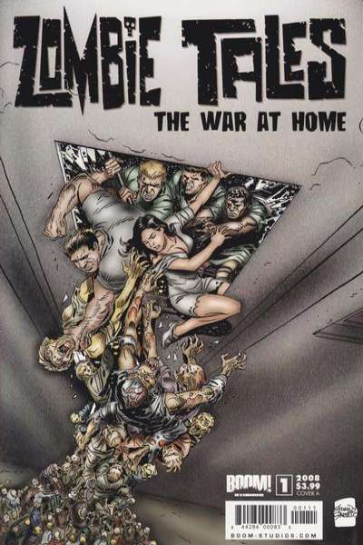 Zombie Tales: The War at Home #1 comic books - cover scans photos Zombie Tales: The War at Home #1 comic books - covers, picture gallery