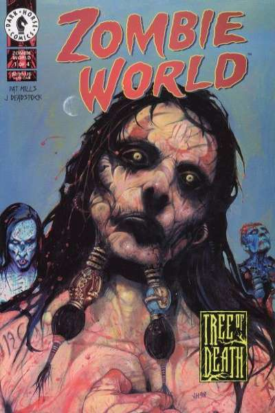 Zombie World: Tree of Death #1 comic books - cover scans photos Zombie World: Tree of Death #1 comic books - covers, picture gallery