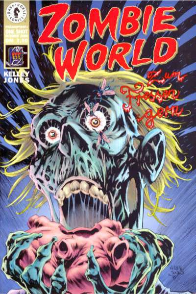 Zombie World #1 comic books - cover scans photos Zombie World #1 comic books - covers, picture gallery