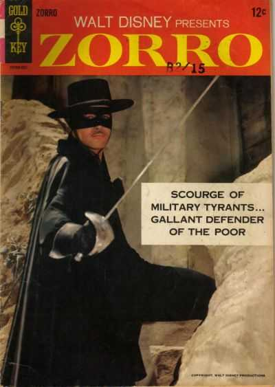 Zorro #1 Comic Books - Covers, Scans, Photos  in Zorro Comic Books - Covers, Scans, Gallery