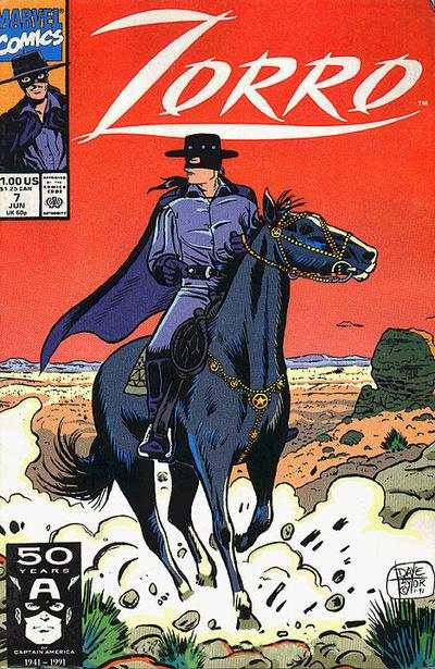 Zorro #7 comic books - cover scans photos Zorro #7 comic books - covers, picture gallery