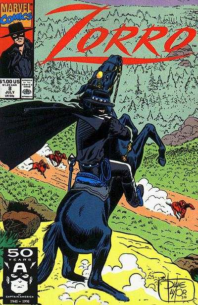 Zorro #8 comic books - cover scans photos Zorro #8 comic books - covers, picture gallery