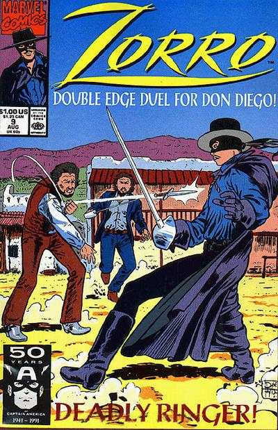 Zorro #9 comic books - cover scans photos Zorro #9 comic books - covers, picture gallery