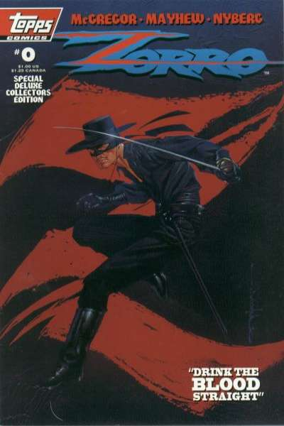 Zorro #0 comic books - cover scans photos Zorro #0 comic books - covers, picture gallery
