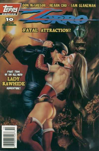 Zorro #10 Comic Books - Covers, Scans, Photos  in Zorro Comic Books - Covers, Scans, Gallery