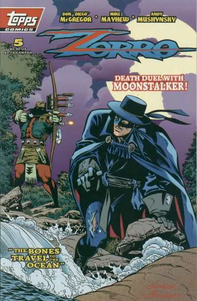 Zorro #5 comic books for sale