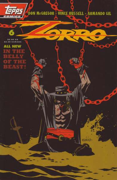 Zorro #6 Comic Books - Covers, Scans, Photos  in Zorro Comic Books - Covers, Scans, Gallery