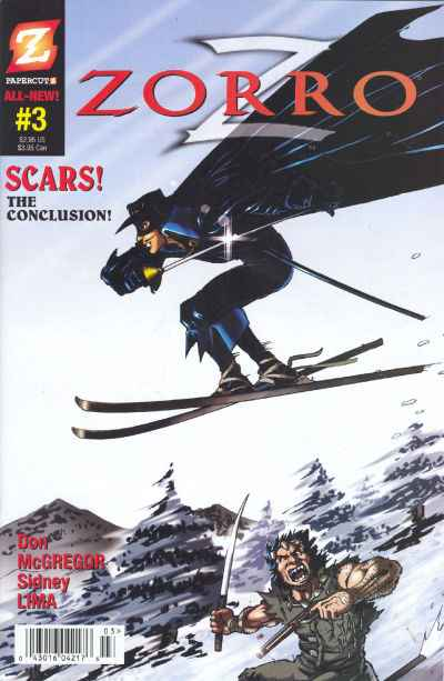 Zorro #3 Comic Books - Covers, Scans, Photos  in Zorro Comic Books - Covers, Scans, Gallery