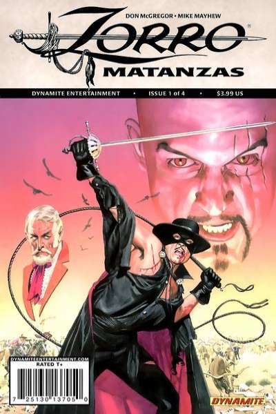 Zorro Matanzas #1 comic books for sale