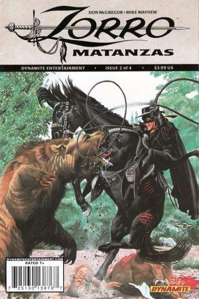 Zorro Matanzas #2 comic books - cover scans photos Zorro Matanzas #2 comic books - covers, picture gallery