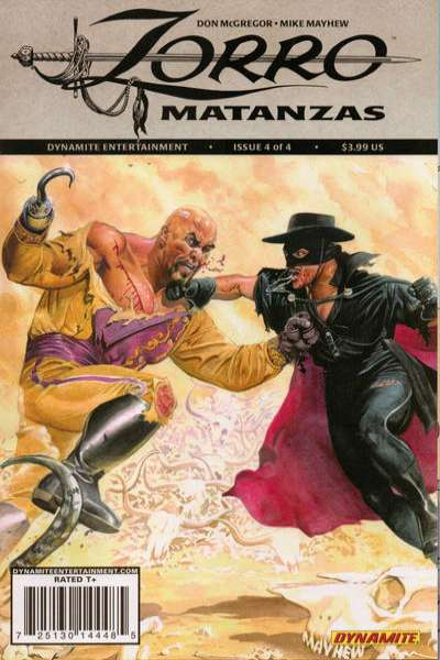 Zorro Matanzas #4 comic books - cover scans photos Zorro Matanzas #4 comic books - covers, picture gallery