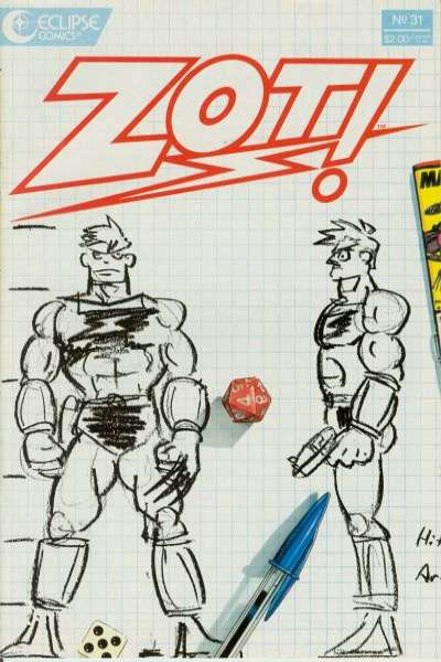 Zot! #31 Comic Books - Covers, Scans, Photos  in Zot! Comic Books - Covers, Scans, Gallery