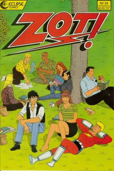 Zot! #34 Comic Books - Covers, Scans, Photos  in Zot! Comic Books - Covers, Scans, Gallery