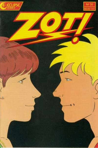 Zot! #35 Comic Books - Covers, Scans, Photos  in Zot! Comic Books - Covers, Scans, Gallery