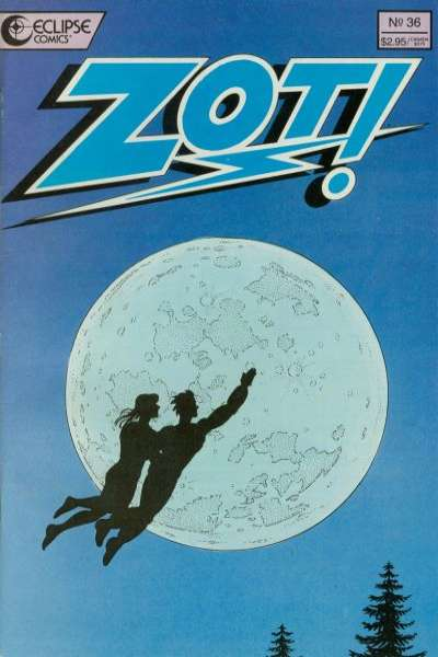 Zot! #36 comic books for sale