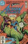 Action Comics #519 comic books - cover scans photos Action Comics #519 comic books - covers, picture gallery