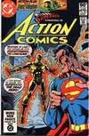 Action Comics #525 comic books - cover scans photos Action Comics #525 comic books - covers, picture gallery