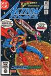 Action Comics #528 comic books - cover scans photos Action Comics #528 comic books - covers, picture gallery