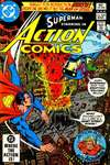 Action Comics #529 comic books - cover scans photos Action Comics #529 comic books - covers, picture gallery