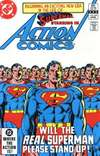 Action Comics #542 comic books - cover scans photos Action Comics #542 comic books - covers, picture gallery