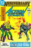Action Comics #544 comic books - cover scans photos Action Comics #544 comic books - covers, picture gallery
