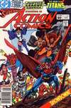 Action Comics #546 comic books - cover scans photos Action Comics #546 comic books - covers, picture gallery