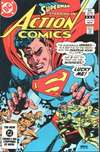 Action Comics #549 comic books - cover scans photos Action Comics #549 comic books - covers, picture gallery