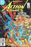 Action Comics #550 comic books - cover scans photos Action Comics #550 comic books - covers, picture gallery