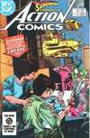 Action Comics #554 comic books - cover scans photos Action Comics #554 comic books - covers, picture gallery