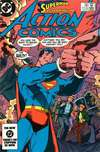 Action Comics #556 comic books - cover scans photos Action Comics #556 comic books - covers, picture gallery