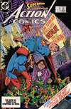 Action Comics #561 comic books - cover scans photos Action Comics #561 comic books - covers, picture gallery