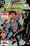 Action Comics #562 comic books - cover scans photos Action Comics #562 comic books - covers, picture gallery