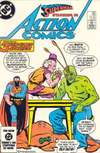 Action Comics #563 comic books - cover scans photos Action Comics #563 comic books - covers, picture gallery