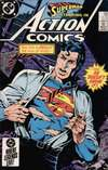 Action Comics #564 Comic Books - Covers, Scans, Photos  in Action Comics Comic Books - Covers, Scans, Gallery