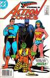 Action Comics #565 comic books - cover scans photos Action Comics #565 comic books - covers, picture gallery
