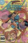Action Comics #568 Comic Books - Covers, Scans, Photos  in Action Comics Comic Books - Covers, Scans, Gallery