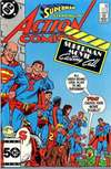 Action Comics #569 comic books - cover scans photos Action Comics #569 comic books - covers, picture gallery
