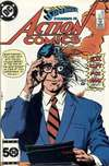 Action Comics #571 Comic Books - Covers, Scans, Photos  in Action Comics Comic Books - Covers, Scans, Gallery