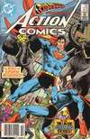 Action Comics #572 comic books - cover scans photos Action Comics #572 comic books - covers, picture gallery