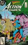 Action Comics #579 comic books - cover scans photos Action Comics #579 comic books - covers, picture gallery